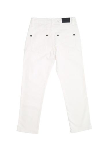 North Of Navy Jean Pantolon Beyaz